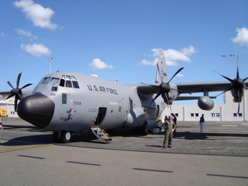 Hurricane tracking airplane has visited Merida. (PHOTO: oceanleadership.org)