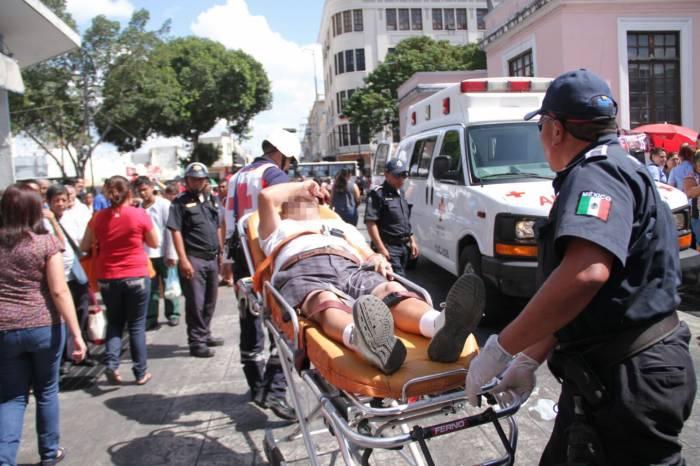injured man Merida