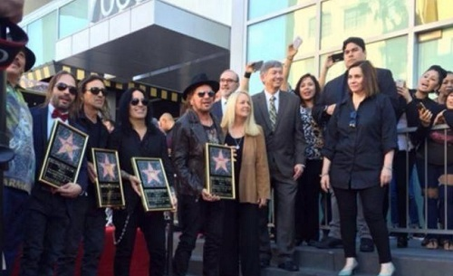 Maná honored with star on the Walk of Fame (Photo: El Universal)