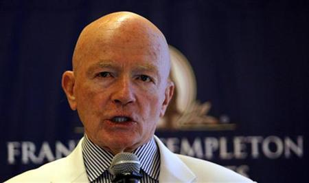 Chairman of Franklin Templeton's Emerging Markets Group Mark Mobius. (PHOTO: REUTERS)