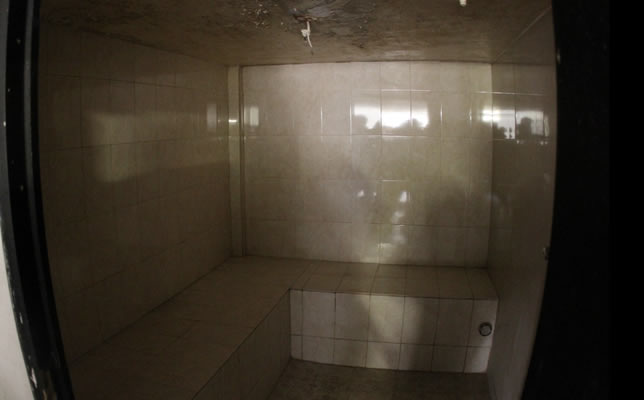 Some inmates enjoyed private  saunas. (PHOTO: cnnexpansion.com)
