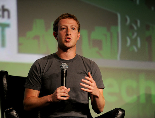 Mark Zuckerberg became $6bn richer in 24 hours (Photo: TechCrunch Flickr 2012)