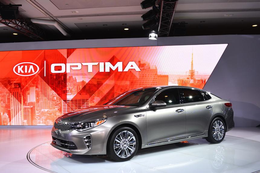 Kia Optima 2016 (Photo: Google)