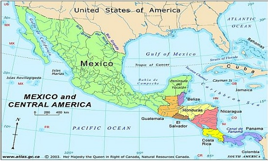 Panama Mexico Map.Mexico Ranks Third Best For Expats In New Survey The Yucatan Times