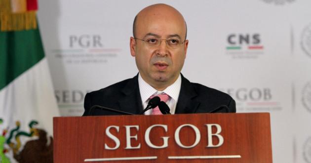 National security commissioner Renato Sales (Photo: Azteca Noticias)