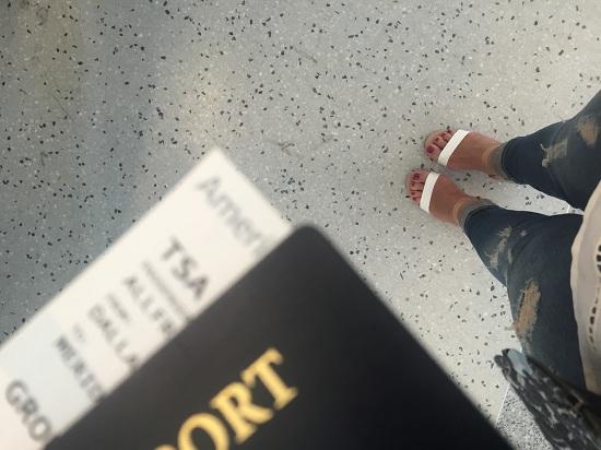 Boarding pass in hand please...