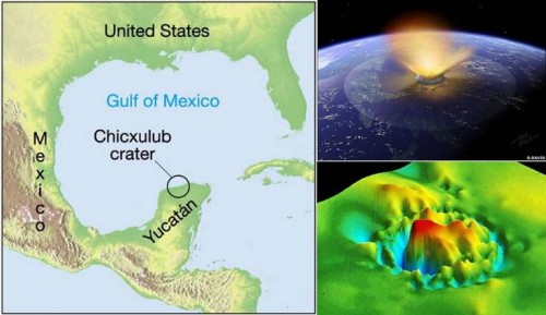 Scientists will start start drilling in April to learn more about the Chicxulub crater near Progreso. (pinterest.com)