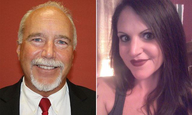 Missouri lawyer John Loveless, left, has been detained in Playa del Carmen in connection with the death of Tamra Turpin of Missouri, in photo at right. (Source: dailymail.com)
