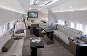 presidential jet interior