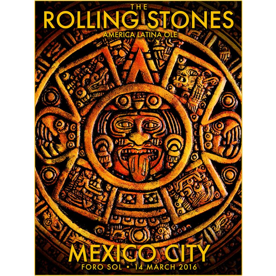 roling stones in Mexico