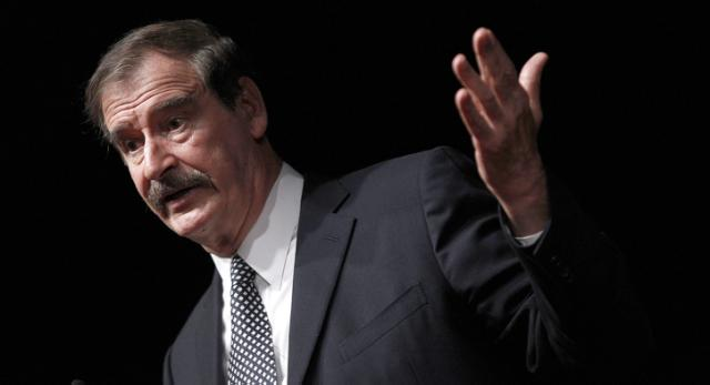 Vicente Fox: Trump's speech 'creating violence' in U.S. (Photo: Yahoo News)