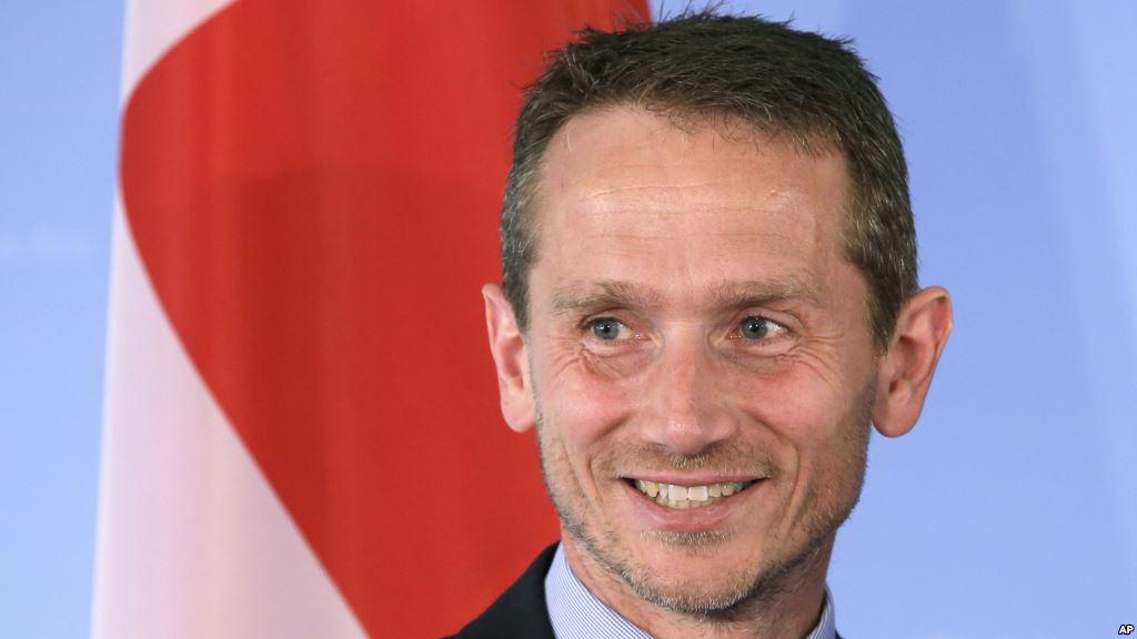 Danish foreign minister Kristian Jensen (Photo: voanews.com)