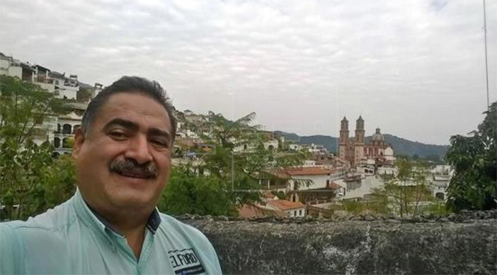 Francisco Pacheco Beltrán in his hometown of Taxco Guerrero (Photo:proceso.com.mx)