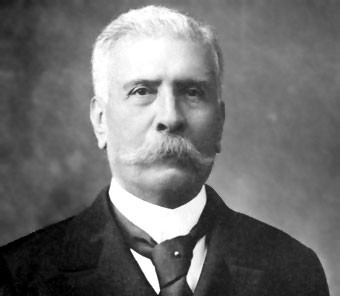Porfirio Díaz in 1907 (Photograph from Bain Collection, United States Library of Congress)