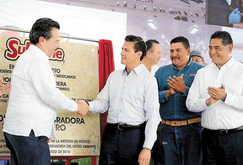 Presidente-Agroparque-Integradora-SuKarne-Durango