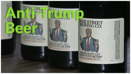 anti trump beer