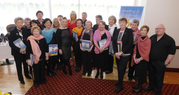Clonmel choir Something to Sing About, which is comprised entirely of cancer survivors and their carers. (Photo courtesy Phil Flood)