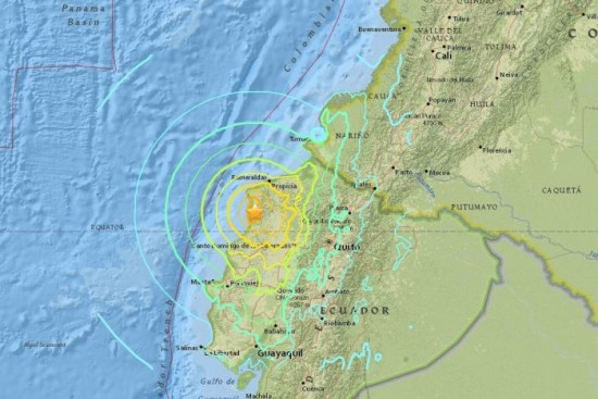No Tsunami Concerns For Mexico As A Result Of Ecuador S