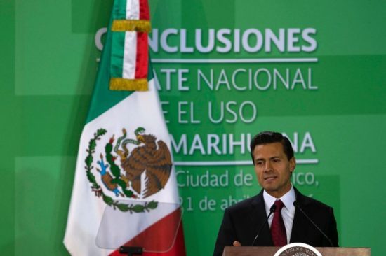 Mexico's president proposed legalizing small amounts of marijuana for recreational use. (PHOTO: yahoo.com)