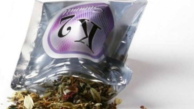 Synthetic marijuana or K2 herbal-chemical mixes contain plant material that is sprayed with toxic chemicals. (DrugAbuse.gov)