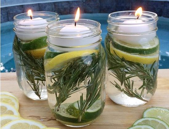 diy mason jar luminaries and natural bug repellent the yucatan times. Black Bedroom Furniture Sets. Home Design Ideas