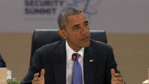 President Obama at nuclear security summit (Photo: CNN)