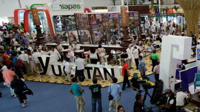 (PHOTO: unionyucatan.mx) Yucatan is selling itself in at the Tianguis Turistico in Guadalajara this week