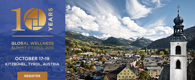 Global Wellness Forum 2016 will be held in Tyrol, Austria next October. (globalwellnesssummit.com)