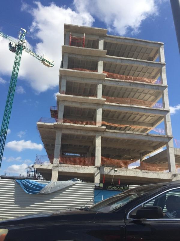 Construction works at Urban Center, North Mérida (Photo: Google)