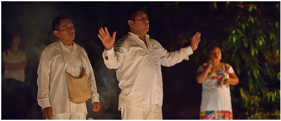 Mayan ceremony at Yaxkin Spa (Photo: http://www.yaxkinspa.com/)
