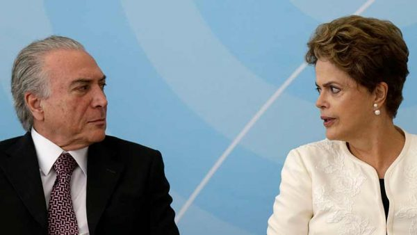 Vice President Michel Temer will replace Dilma Rousseff as Brazil's top leader. (PHOTO: unionradio.net)