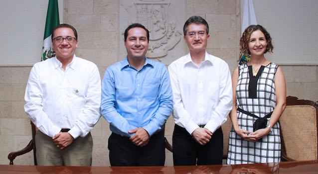 "Mayor calls meridians to choose the ""7 treasures Cultural Heritage of Merida"" (Photo: Yucatan al minuto)"