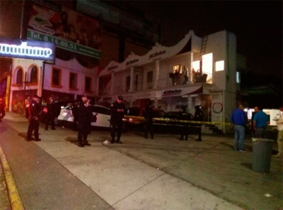 Bar La Madame after shooting in Xalapa, Veracruz. (PHOTO: Info7.mx)