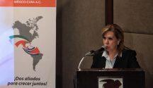 Beatriz Barreto, president of the Mexico-Cuba Chamber of Commerce. (PHOTO: vidalatinasd.com)