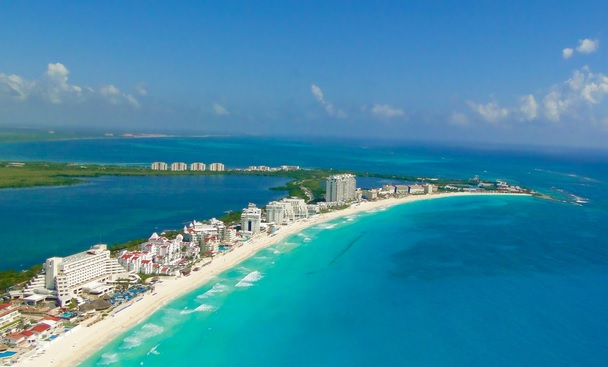 Half of Mexico's hotel rooms are located in just eight cities, including Cancun, pictured here. (PHOTO: oneworld365.org)