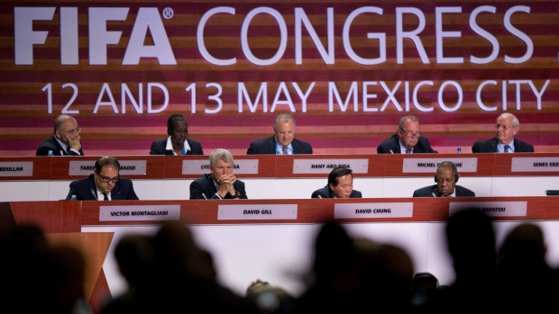 FIFA officials meeting in Mexico City last week. (PHOTO: smh.com.au)