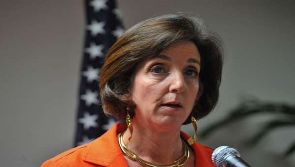 U.S. Ambassador to Mexico Roberta Jacobson. (PHOTO: AFP)