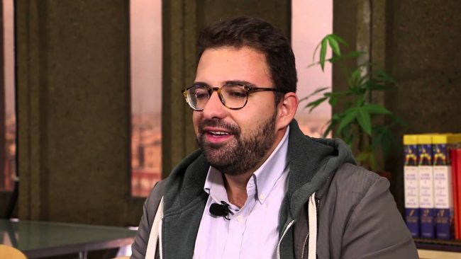 Jorge Mena is an undocumented immigrant and graduate student who has led opposition to Donald Trump in Chicago. (PHOTO: youtube.com)