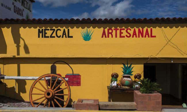 Mom-and-pop mezcal makers are accusing regulators of trying to industrialize and standardize an artisanal activity, along with appropriating the name. (Photograph: Omar Torres/AFP/Getty Images)