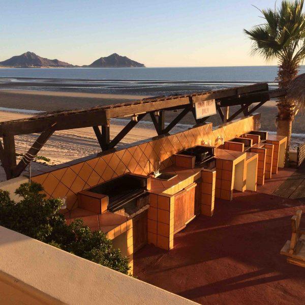Beach and condo outside San Felipe. (PHOTO: Chuck Bolotin)