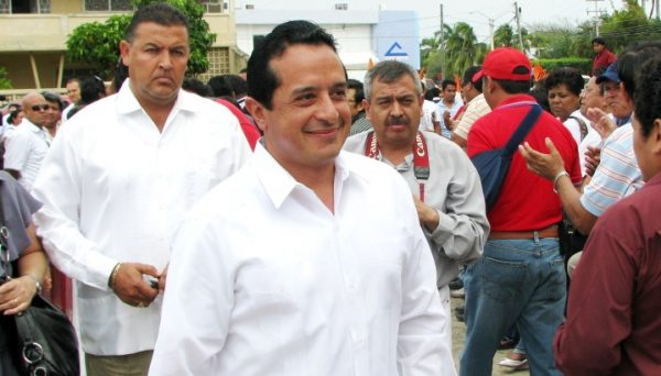 Carlos Joaquin Gonzalez of PAN-PRD is new governor of Quintana Roo. (PHOTO: periodistasquintanaroo.com)
