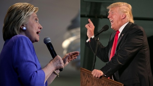 Clinton and Trump have traded accusations regarding NAFTA. (PHOTO: billsinsider.com)