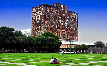 UNAM main campus in Mexico City. (PHOTO: mx.unoi.com)