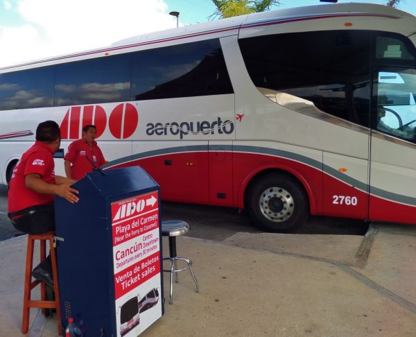 ADO added new buses to its fleet. (PHOTO: everythingplayadelcarmen.com)