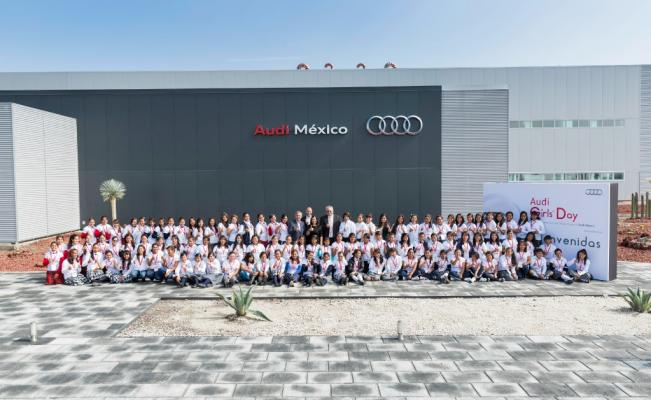 Audi already has more than 2,500 employees at its Puebla plant.(PHOTO: eluniversal.com.mx)