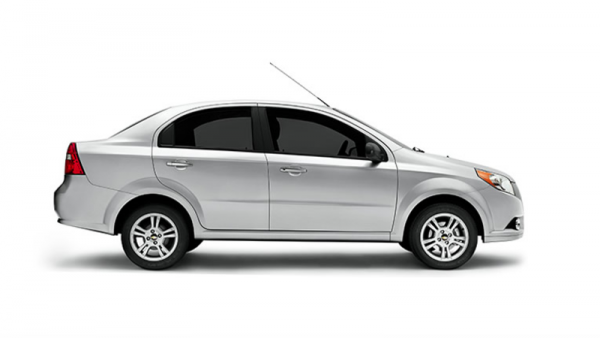 Chevy Aveo is one of the cars affected by new safety standards in Mexico.