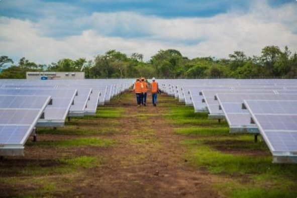 Cuncunul (70MW AC) located in the Yucatan state (Photo: solarcentury.com)