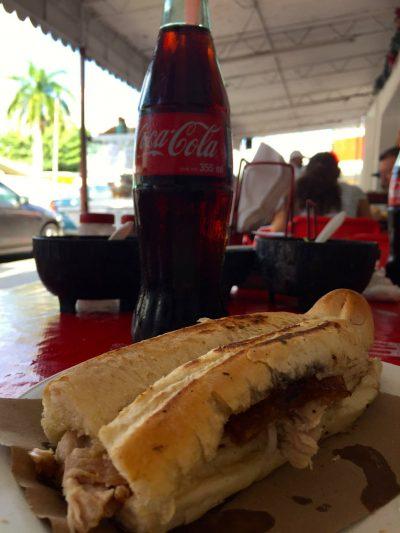 Tacos de lechon. (PHOTO: Miranda Allfrey.)