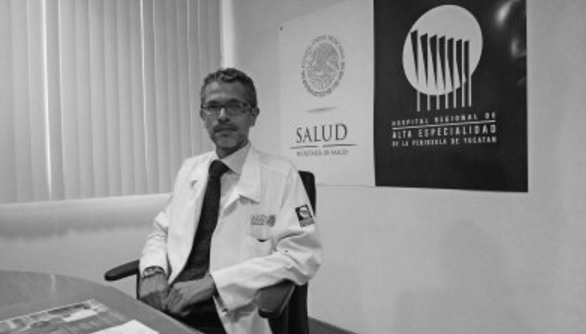 José Luis Lozano Marín, Neurosurgeon from the Regional High Specialty Hospital, was the organizer of the International Course of the International Society for Pediatric Neurosurgery for the first time will be after the Peninsula