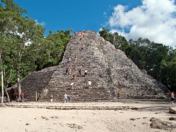 Temple at Cobá. (PHOTO: turimexico.com)